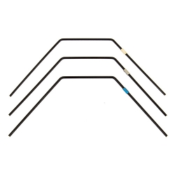#91823 - B6.1 FT Rear Anti-roll Bar Set - Team Associated