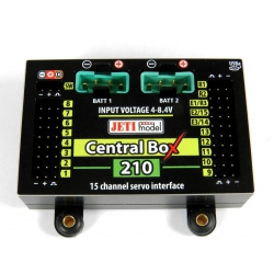 Central Box 210 + 2xRSAT2 + RCSW - Jeti Model
