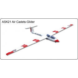 ASK21 Air Cadets Glider - Szybowiec FlyFly Hobby